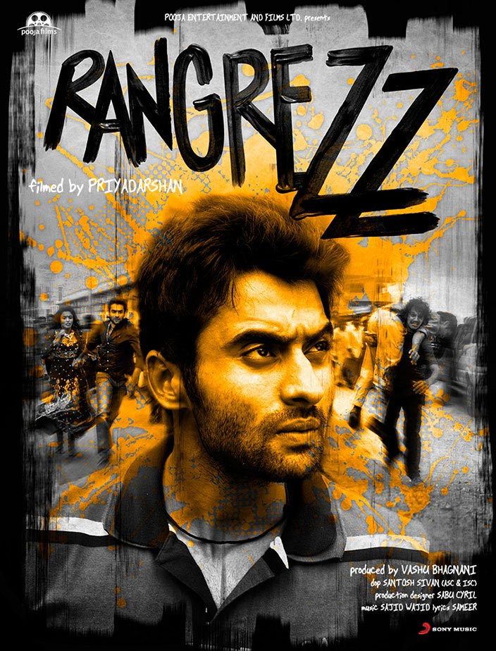Rangrezz - Movie Poster #2 (Original)