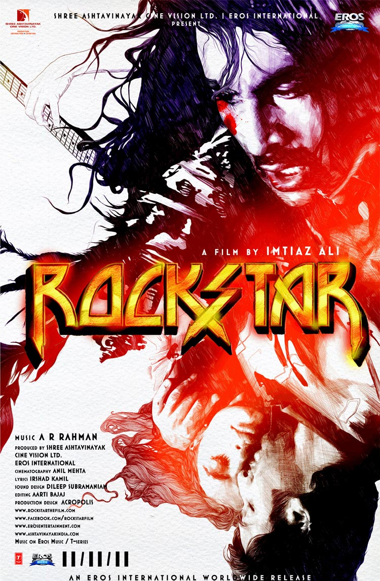 Rockstar - Movie Poster #1 (Original)
