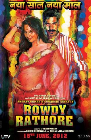 Rowdy Rathore - Movie Poster #1