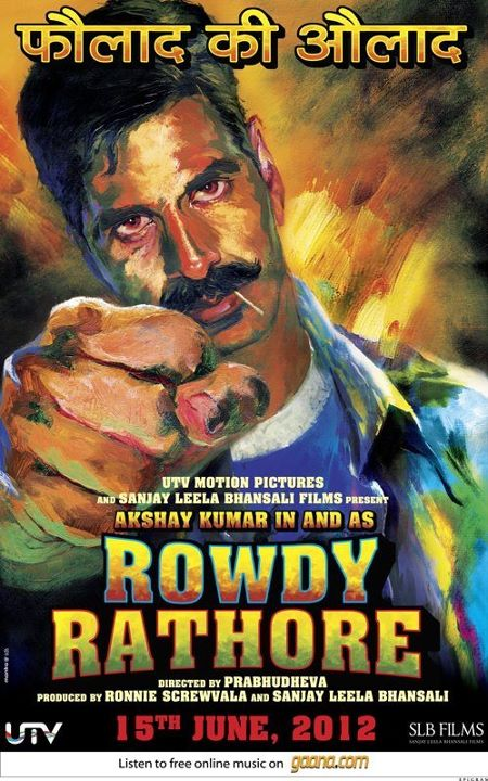 Rowdy Rathore - Movie Poster #2 (Original)