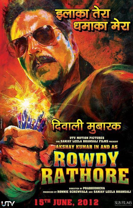 Rowdy Rathore - Movie Poster #3 (Original)