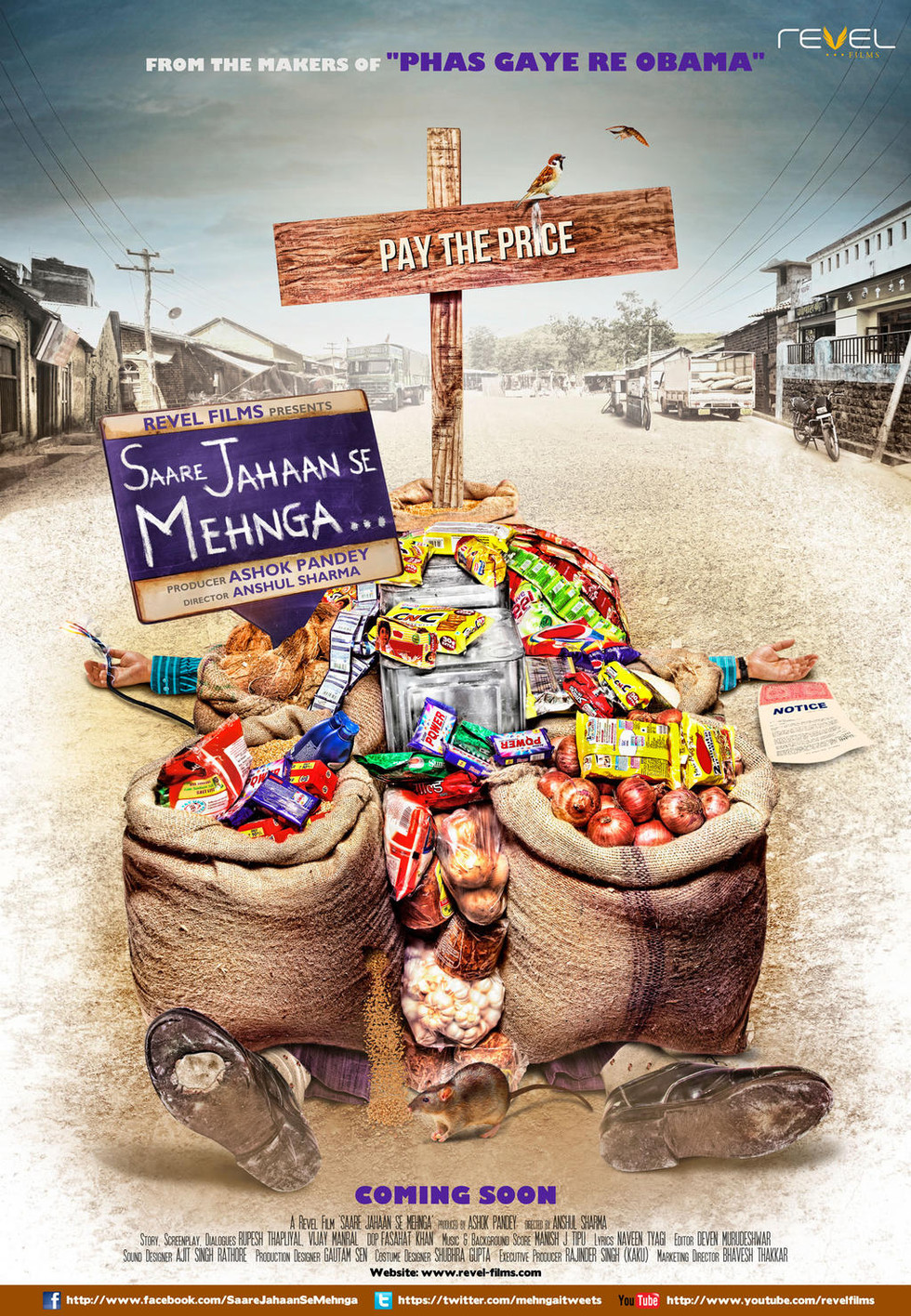 Saare Jahaan Se Mehnga - Movie Poster #1 (Large)