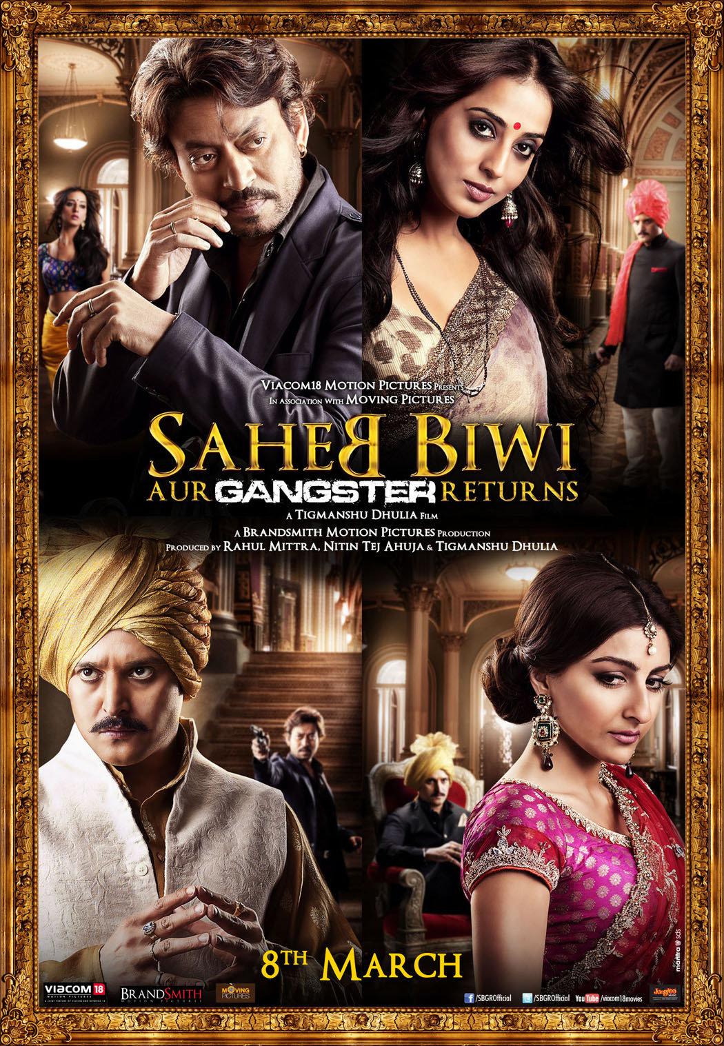 Saheb Biwi Aur Gangster Returns - Movie Poster #1 (Original)