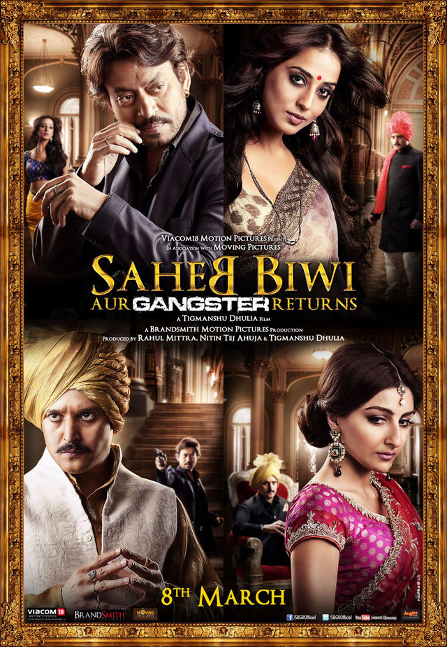 Saheb Biwi Aur Gangster Returns - Movie Poster #1