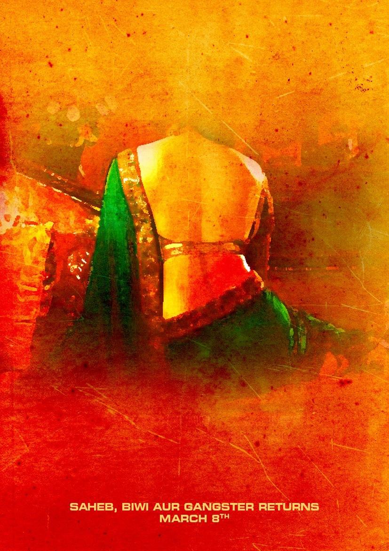 Saheb Biwi Aur Gangster Returns - Movie Poster #5 (Original)