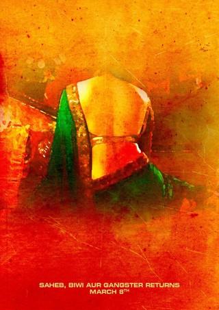 Saheb Biwi Aur Gangster Returns - Movie Poster #5 (Small)