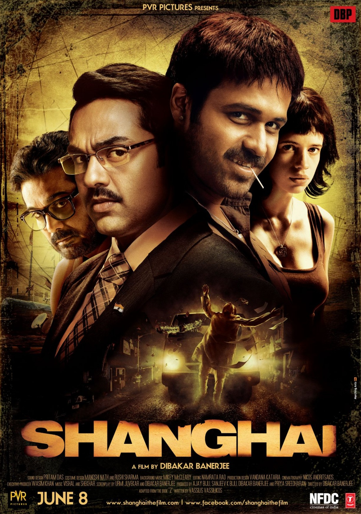 Shanghai - Movie Poster #1 (Original)