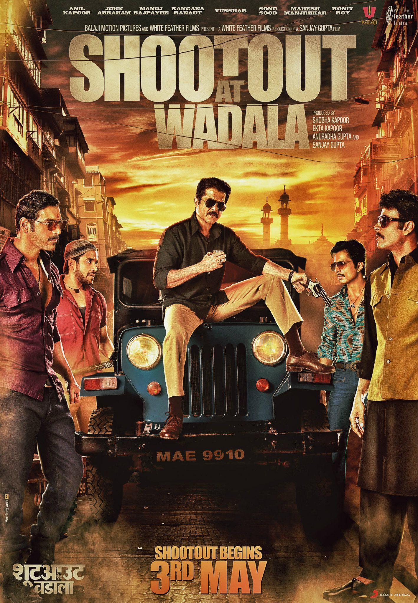 Shootout At Wadala - Movie Poster #1 (Original)