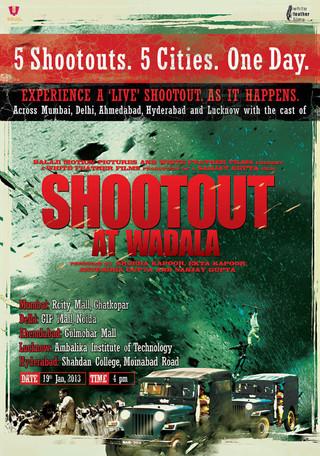 Shootout At Wadala - Movie Poster #2 (Small)