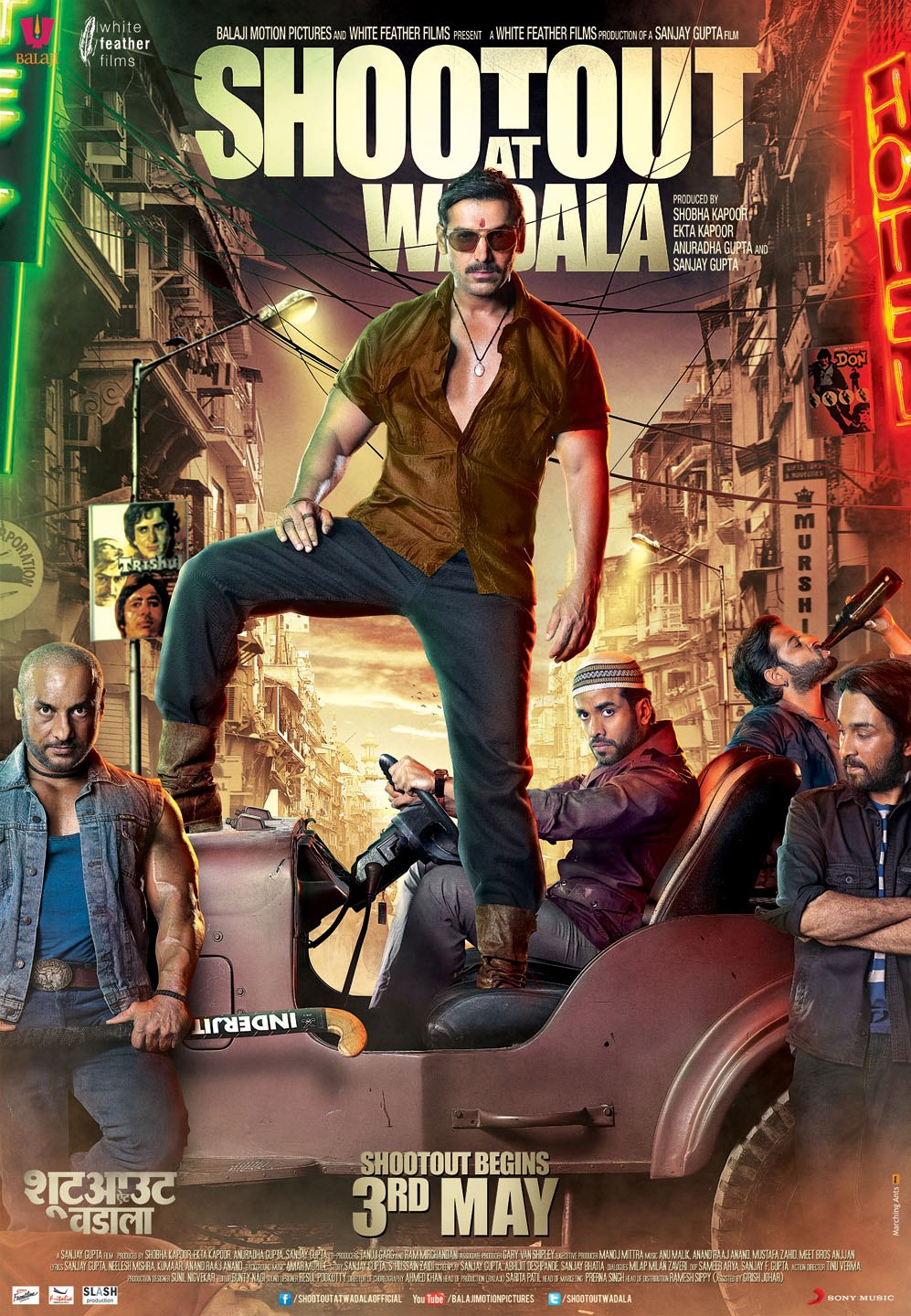 Shootout At Wadala - Movie Poster #7 (Original)