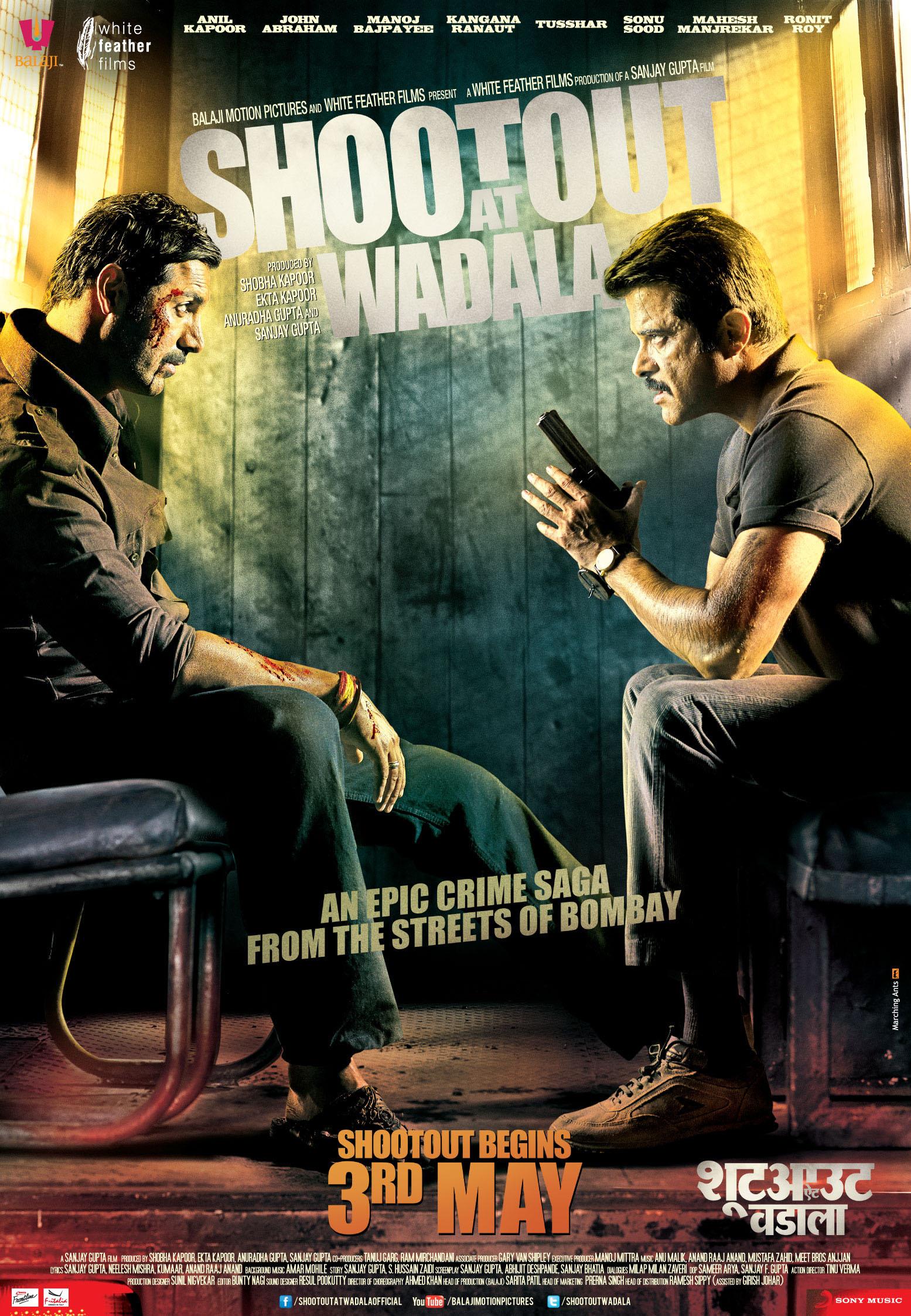 Shootout At Wadala - Movie Poster #9 (Original)