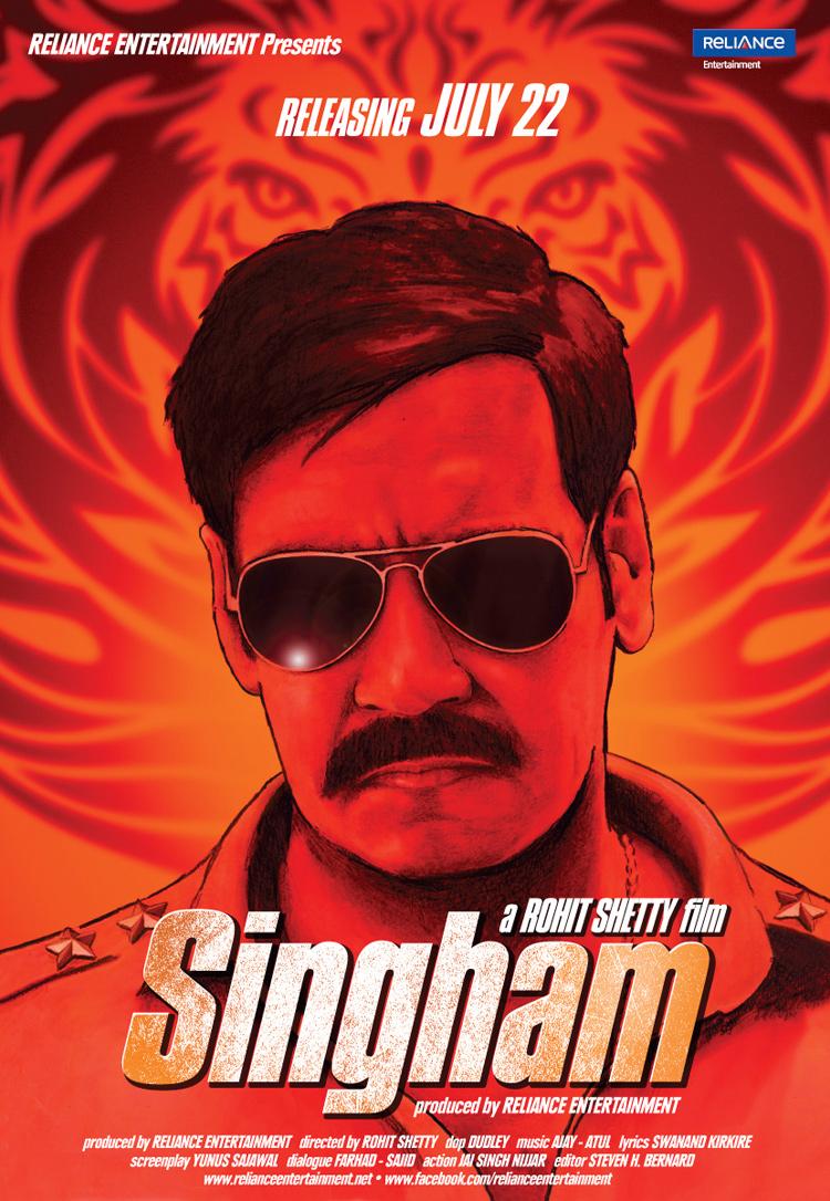 Singham - Movie Poster #1 (Original)