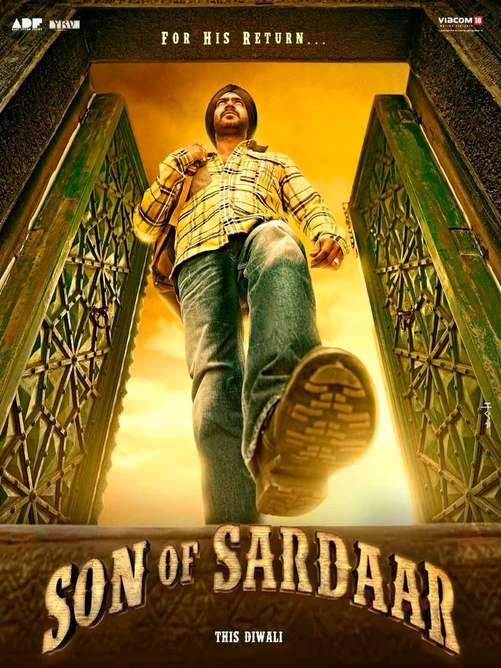 Son of Sardaar - Movie Poster #1 (Large)