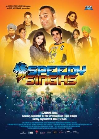 Speedy Singhs - Movie Poster #1 (Small)