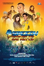 Speedy Singhs Small Poster