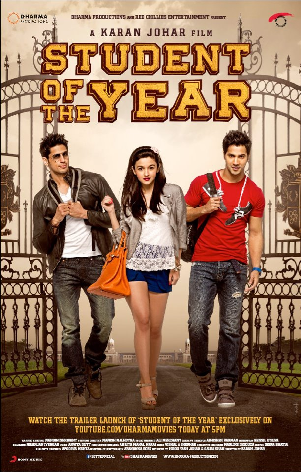 Student Of The Year - Movie Poster #1 (Original)