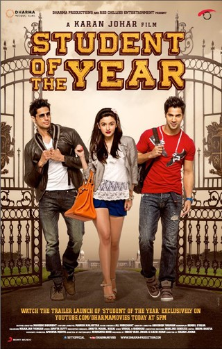 Student Of The Year - Movie Poster #1 (Small)