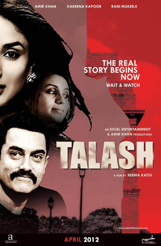 Talaash - Movie Poster #1 (Large)