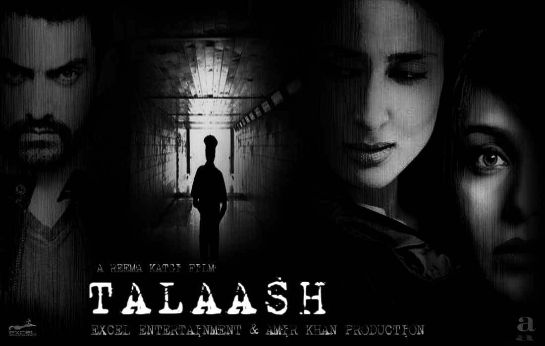 Talaash - Movie Poster #2 (Original)