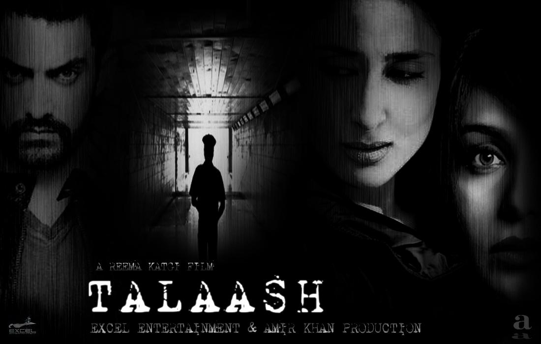 Talaash - Movie Poster #2 (Original)