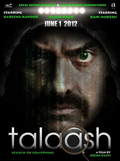 Talaash - Movie Poster #3 (Original)