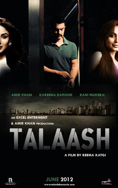 Talaash - Movie Poster #4 (Original)
