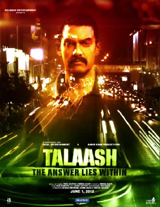 Talaash - Movie Poster #5 (Original)