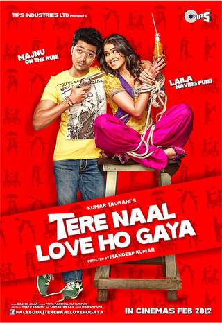 Tere Naal Love Ho Gaya - Movie Poster #1 (Small)