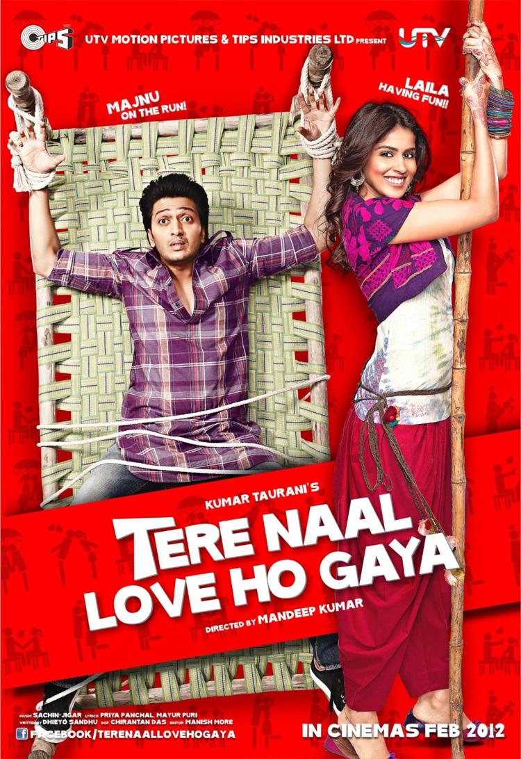 Tere Naal Love Ho Gaya - Movie Poster #2 (Original)