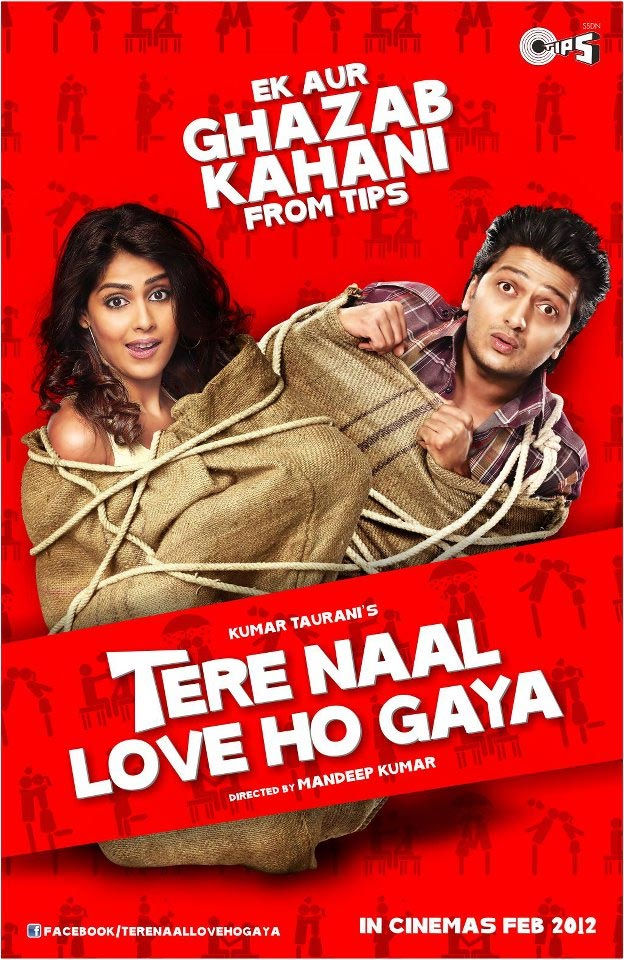 Tere Naal Love Ho Gaya - Movie Poster #3 (Original)