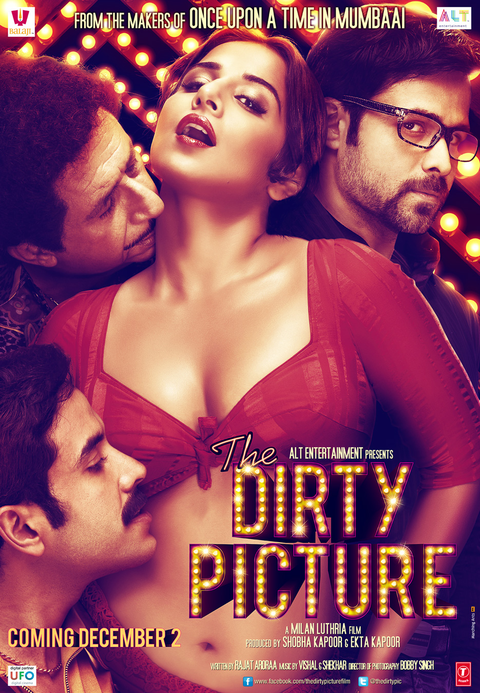 The Dirty Picture - Movie Poster #1 (Original)