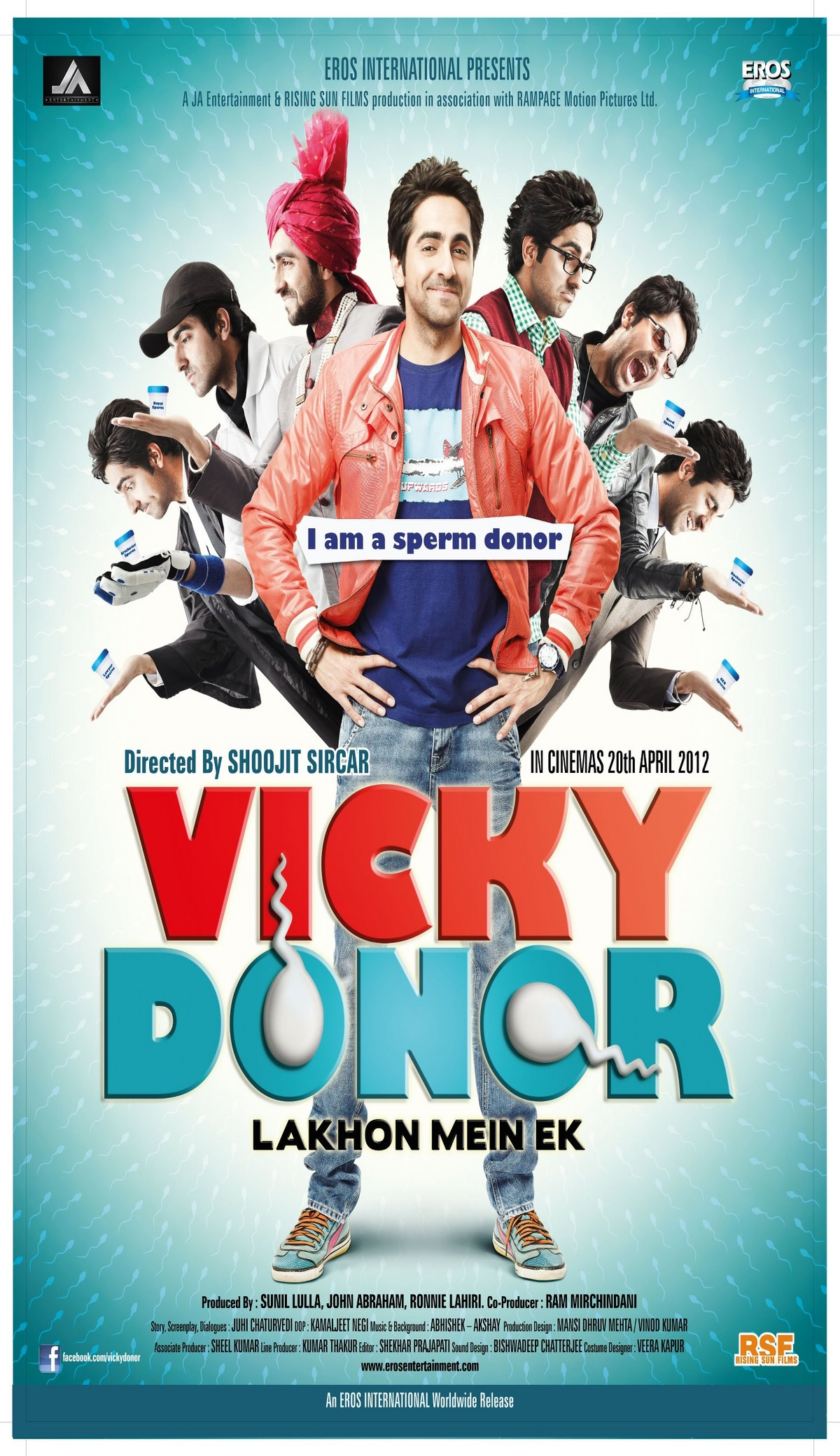 Vicky Donor - Movie Poster #1 (Original)