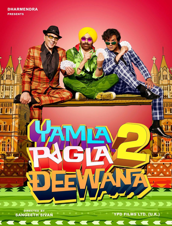 Yamla Pagla Deewana 2 - Movie Poster #3 (Original)