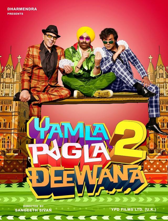 Yamla Pagla Deewana 2 - Movie Poster #3