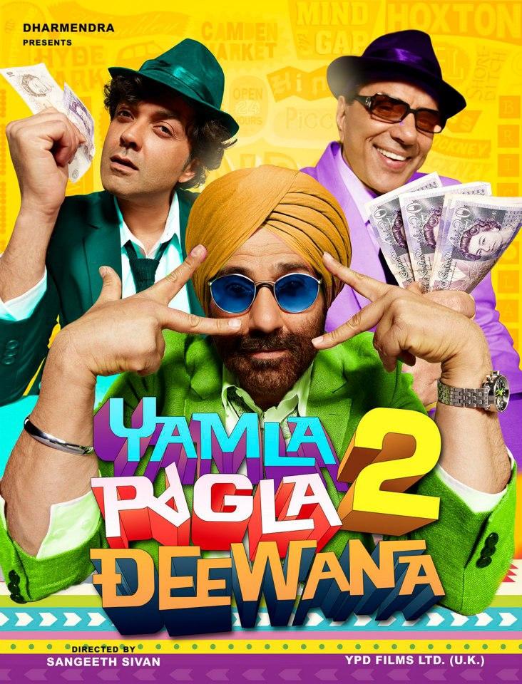 Yamla Pagla Deewana 2 - Movie Poster #5 (Original)