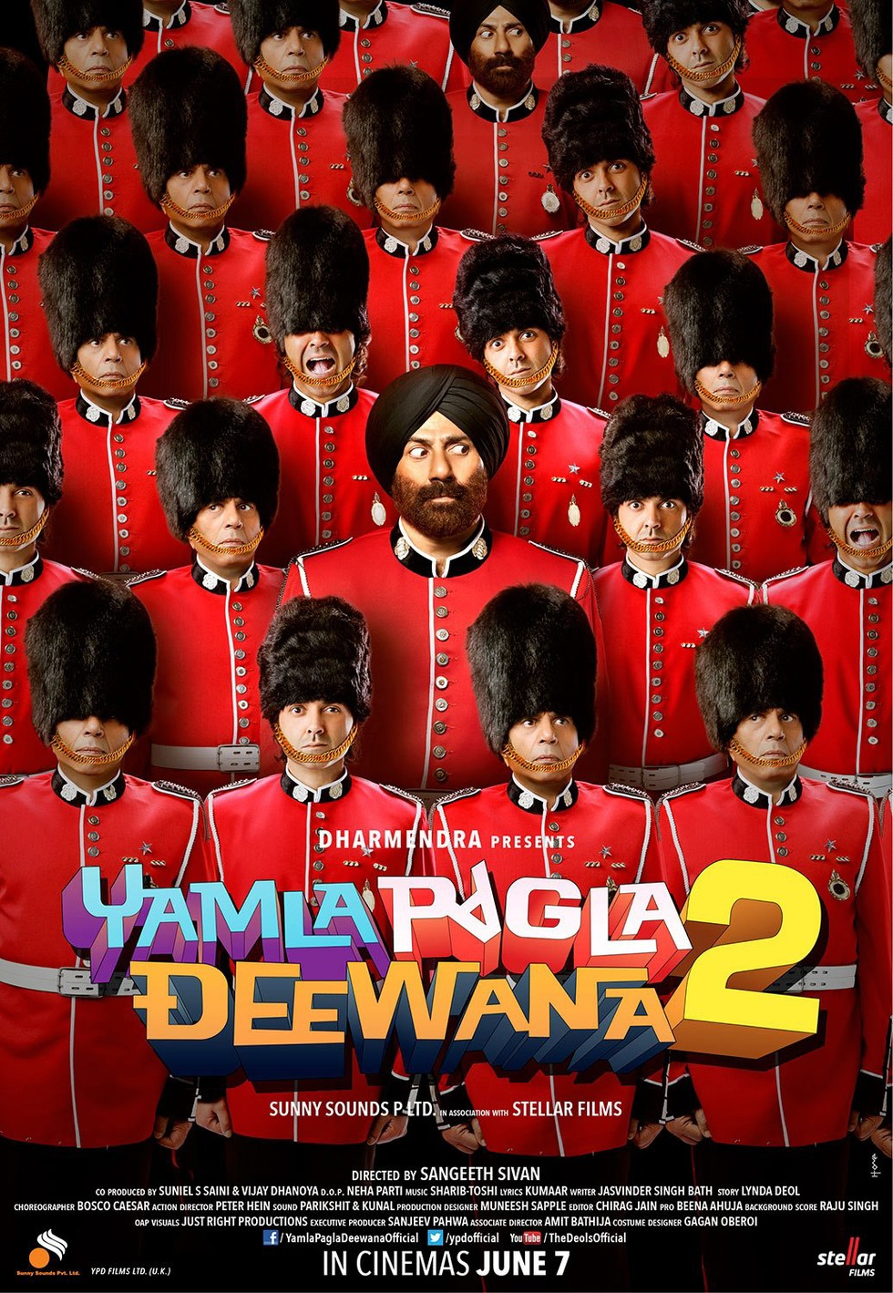 Yamla Pagla Deewana 2 - Movie Poster #6 (Large)