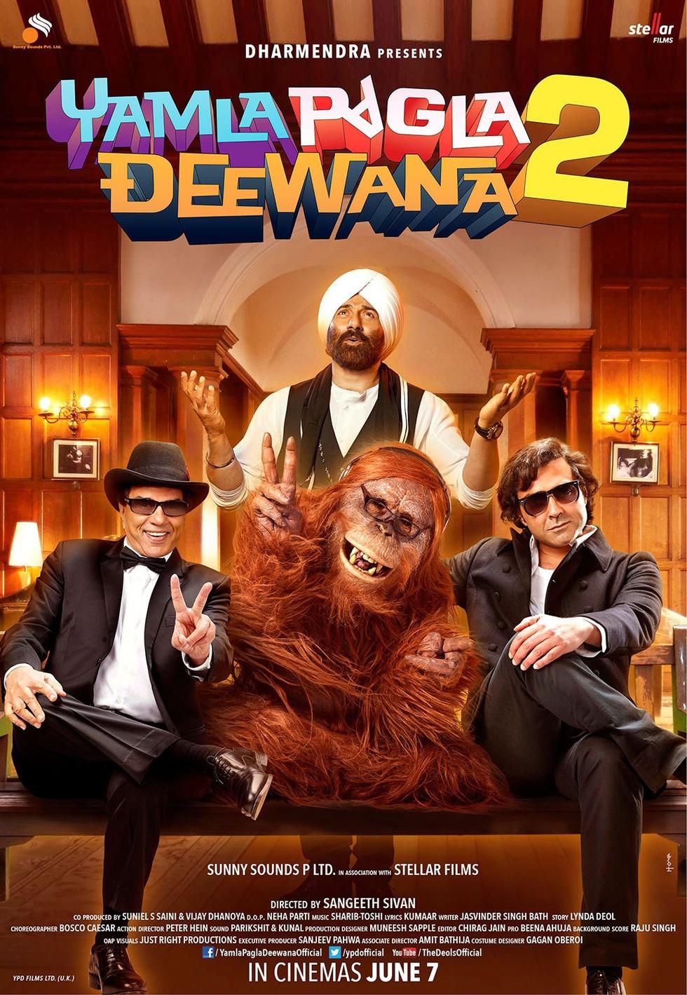 Yamla Pagla Deewana 2 - Movie Poster #7 (Large)