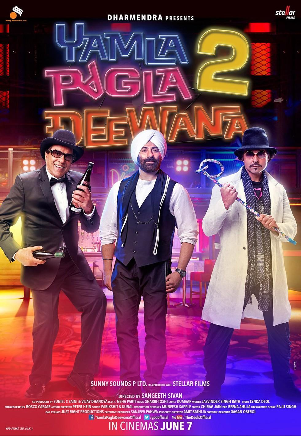 Yamla Pagla Deewana 2 - Movie Poster #8 (Large)