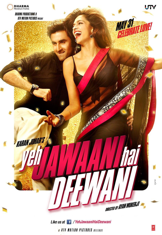 Yeh Jawaani Hai Deewani - Movie Poster #1 (Original)