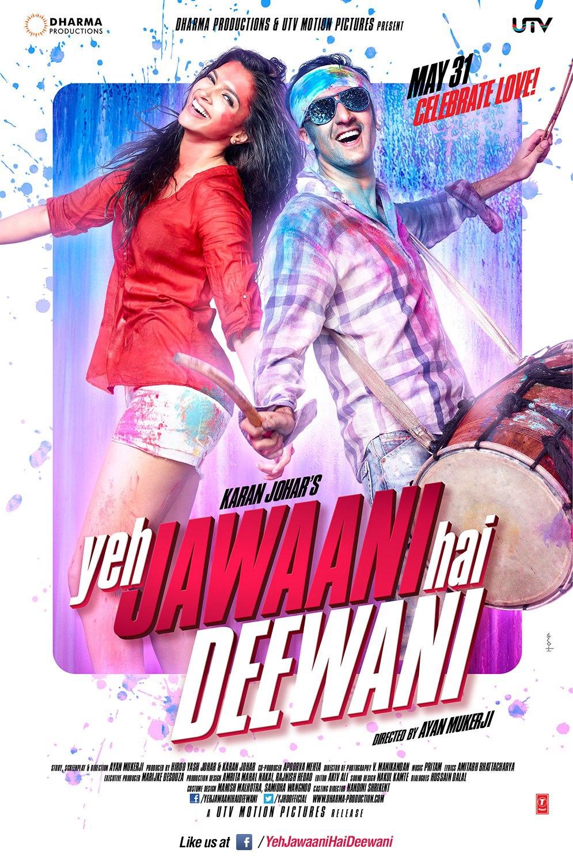 Yeh Jawaani Hai Deewani - Movie Poster #2