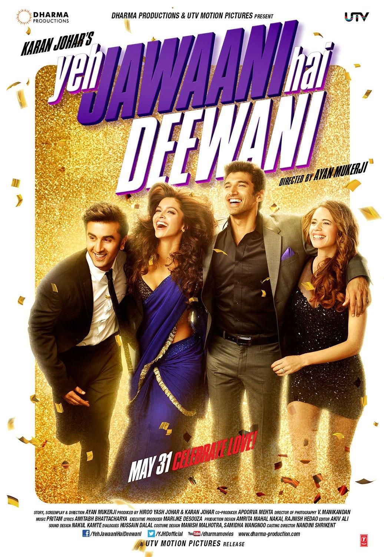 Yeh Jawaani Hai Deewani - Movie Poster #3 (Original)