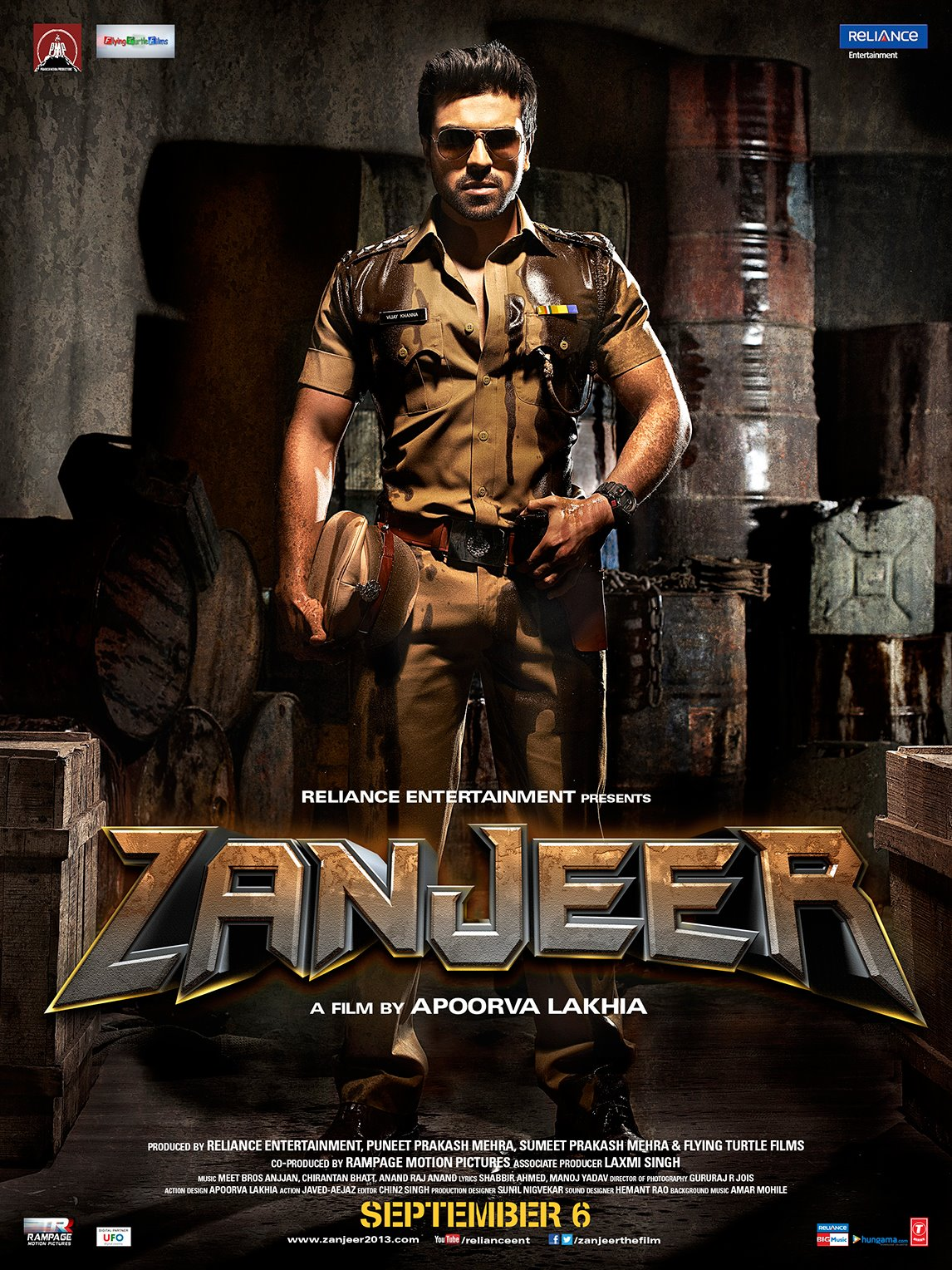 Zanjeer - Movie Poster #4 (Original)