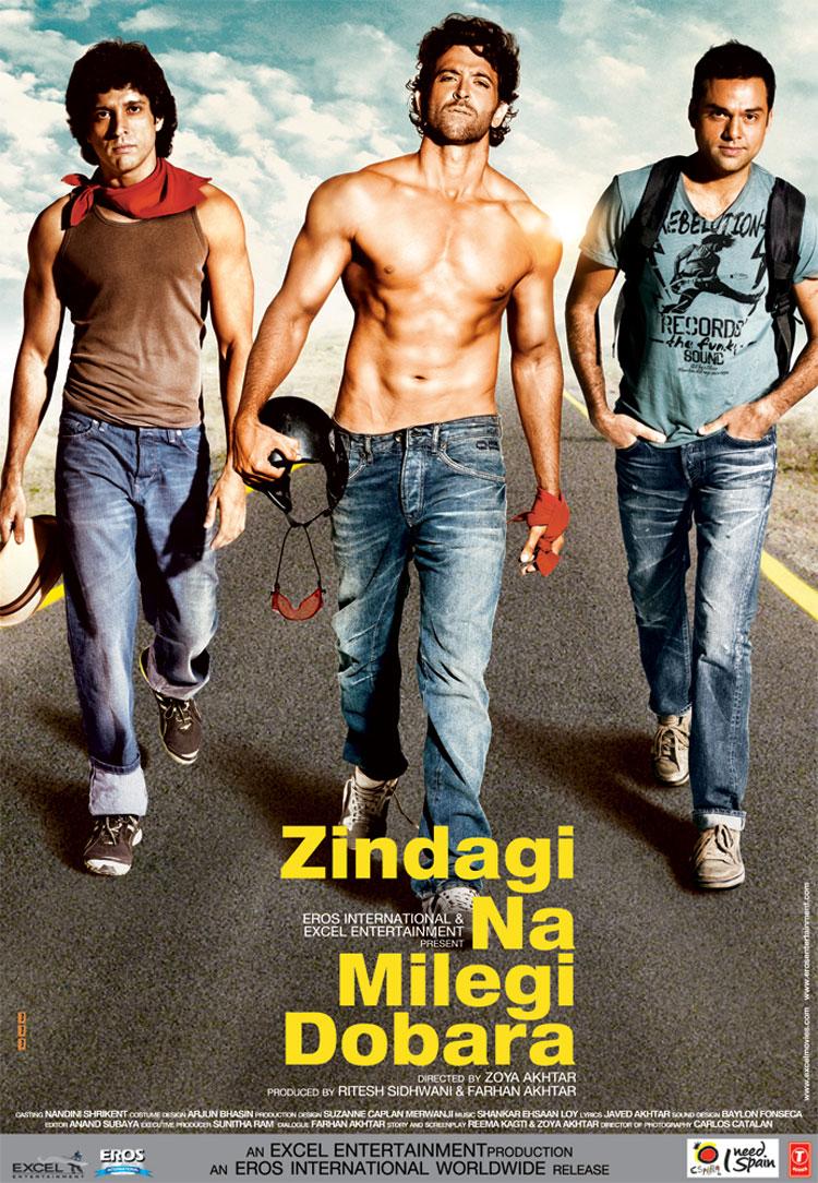 Zindagi Na Milegi Dobara - Movie Poster #1 (Original)