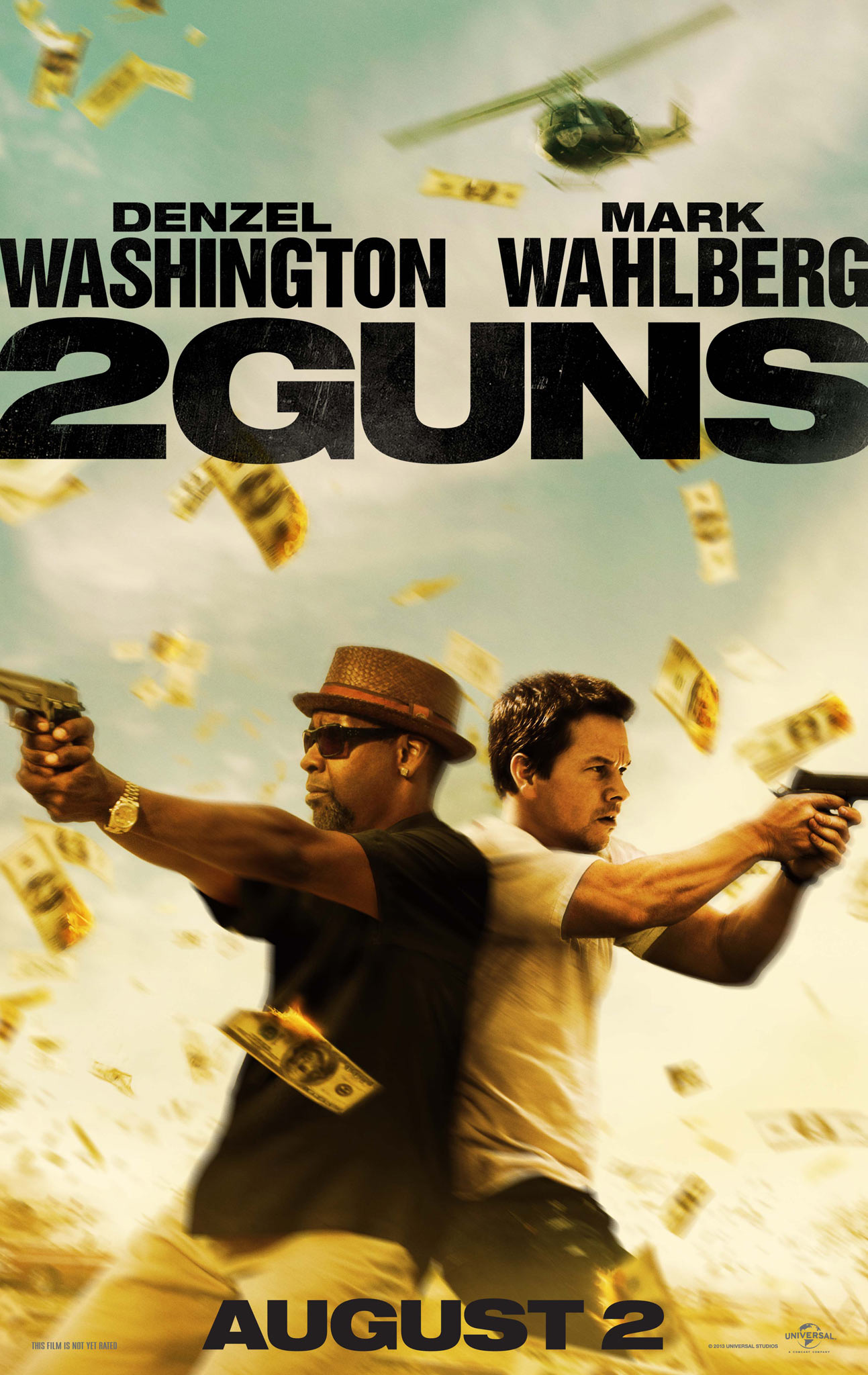 2 Guns - Movie Poster #1 (Original)