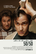 50/50 Small Poster