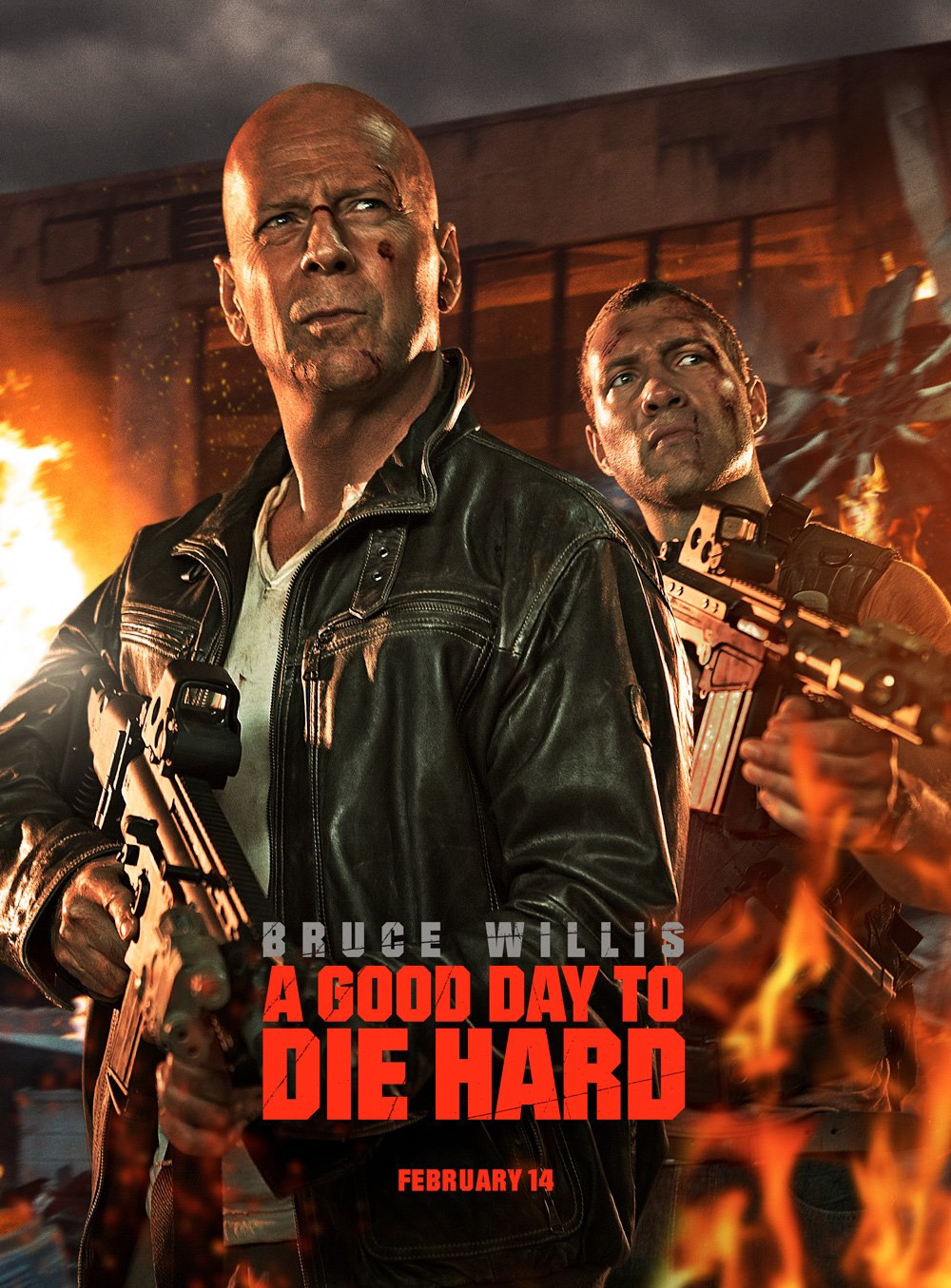 A Good Day to Die Hard - Movie Poster #1 (Original)