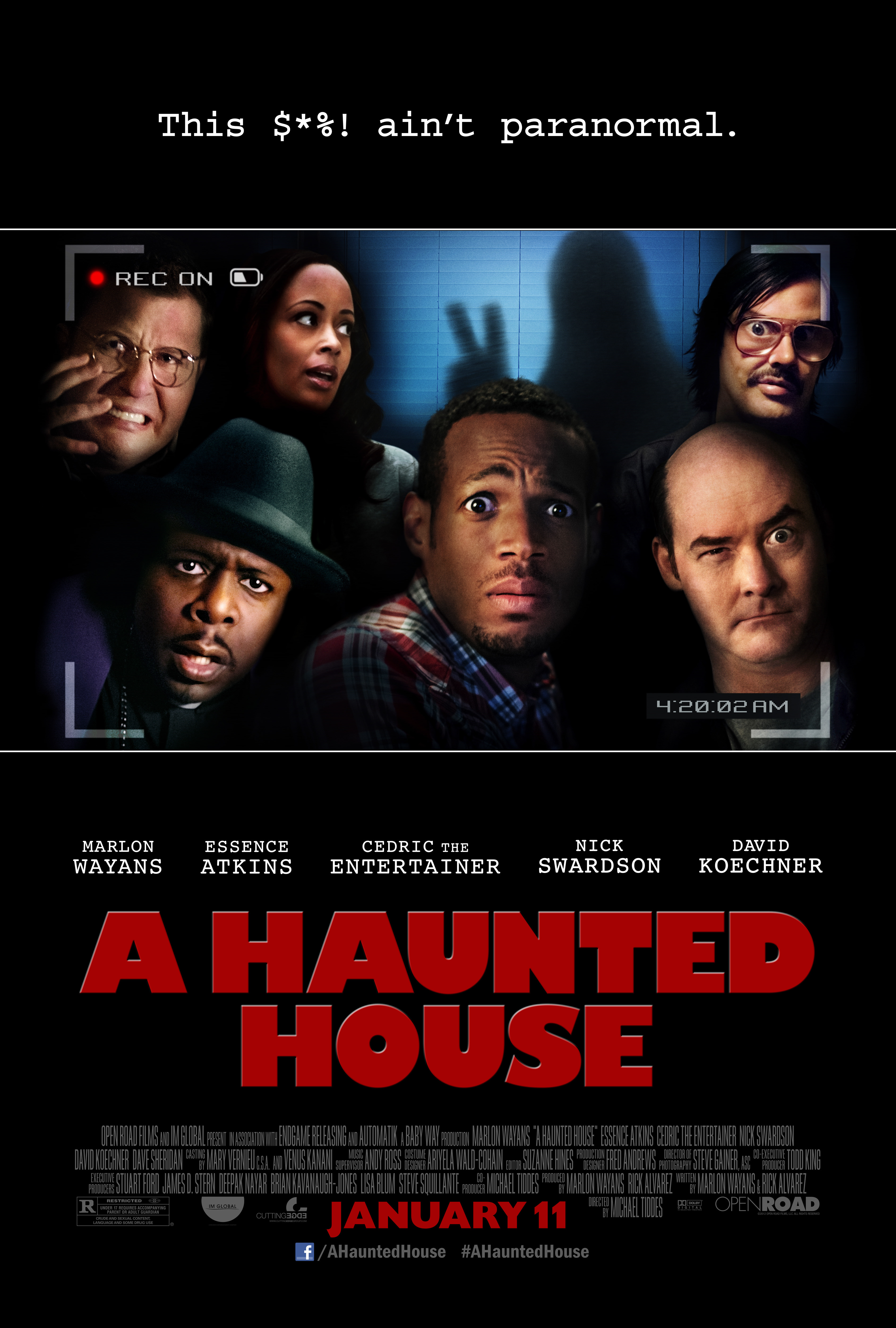 A Haunted House - Movie Poster #1 (Original)