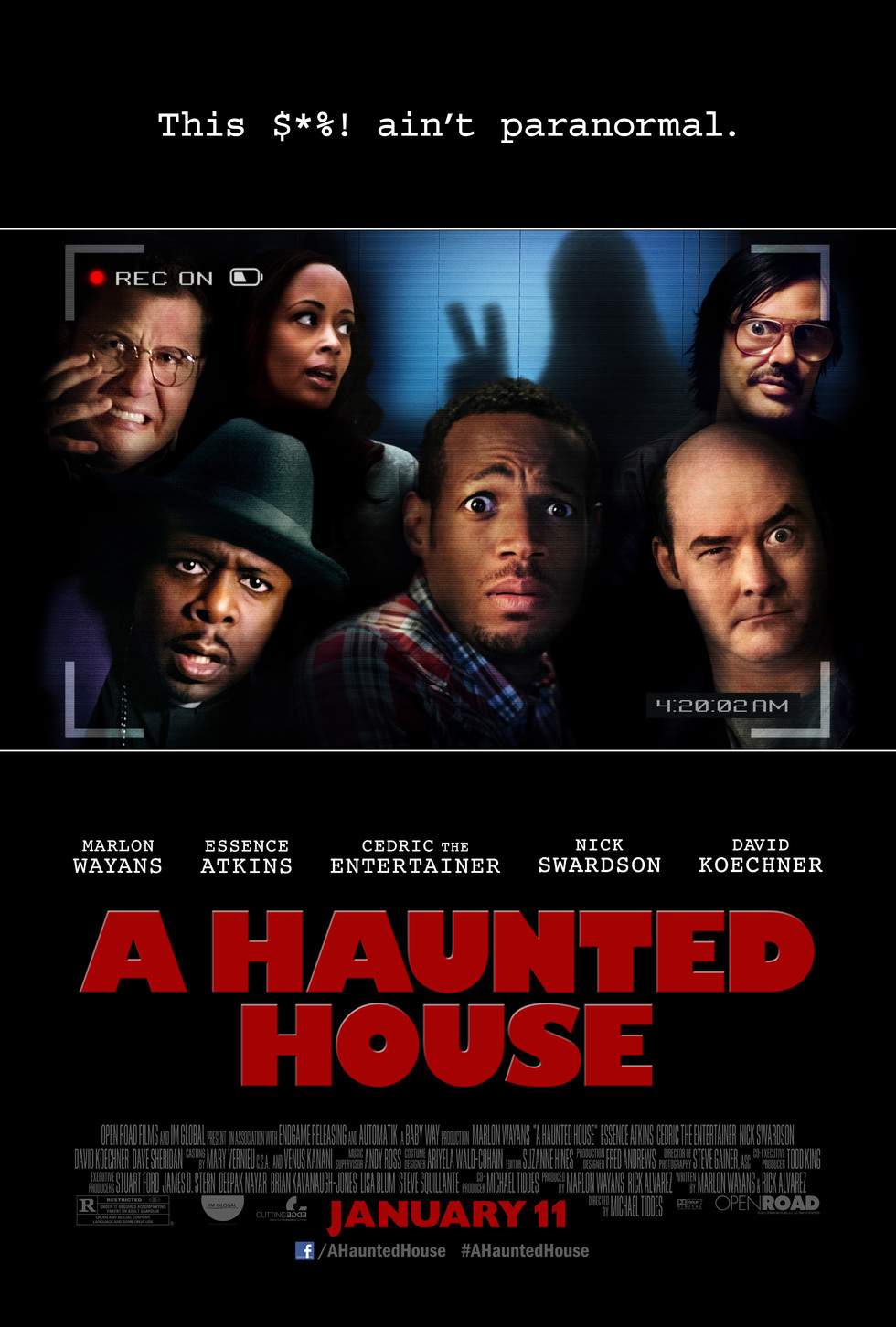 A Haunted House - Movie Poster #1 (Large)
