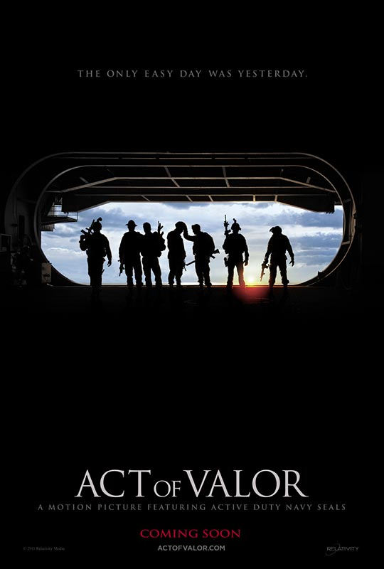 Act of Valor - Movie Poster #1 (Original)