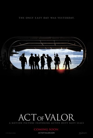 Act of Valor - Movie Poster #1